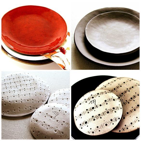 the moon handmade dinnerware by melinda marie alexander xfour(2)jpg