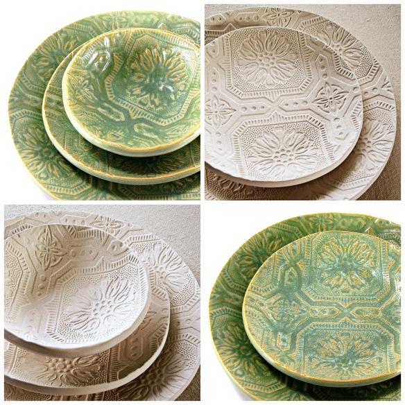 vintage cottage dinnerware by melinda marie alexander ravenhillpotteryjpg