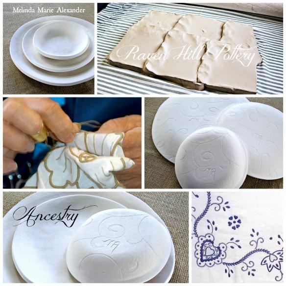 ancestry handmade dinnerware by melinda marie alexanderjpg