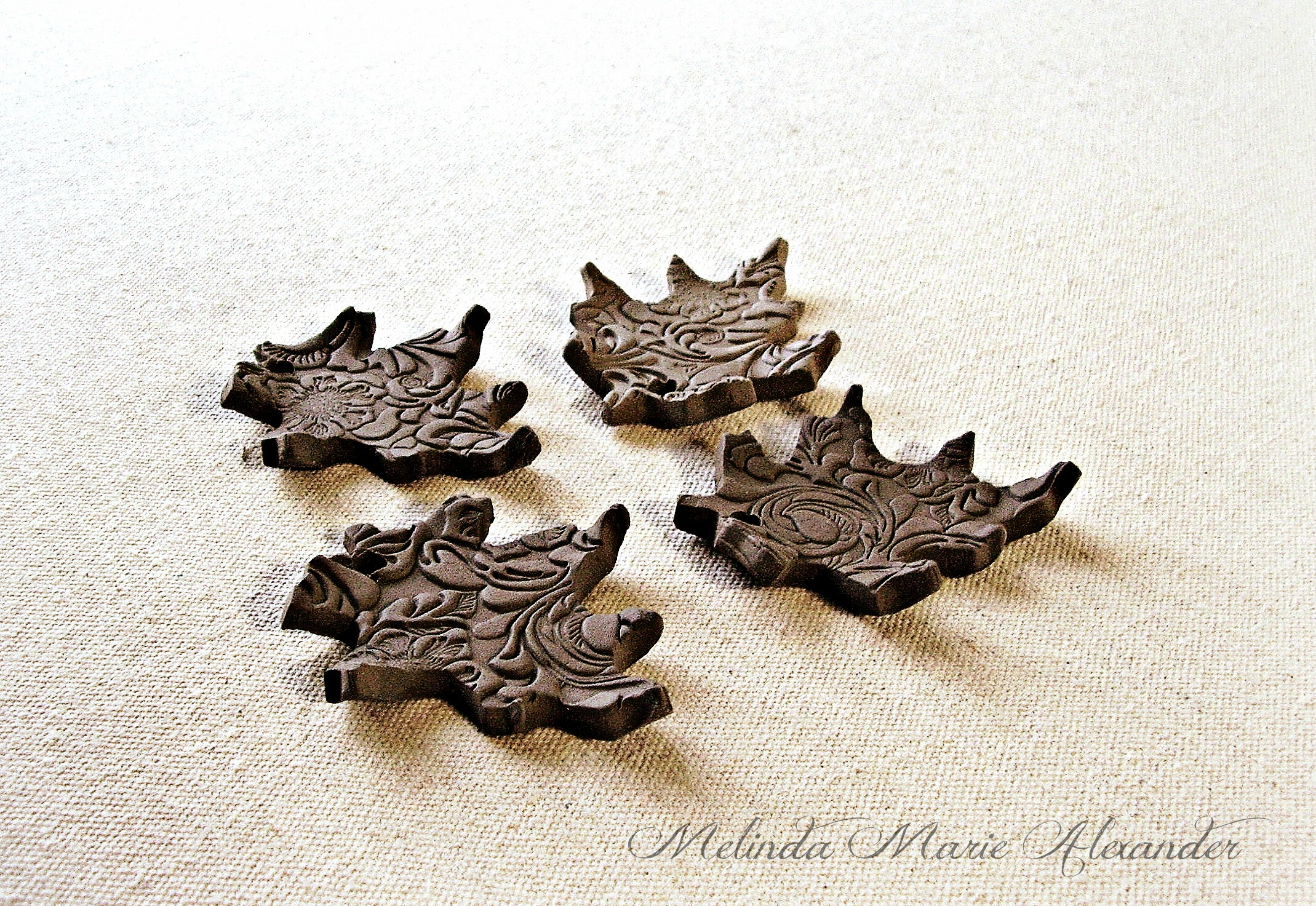 Leaf Ornaments And Magnets