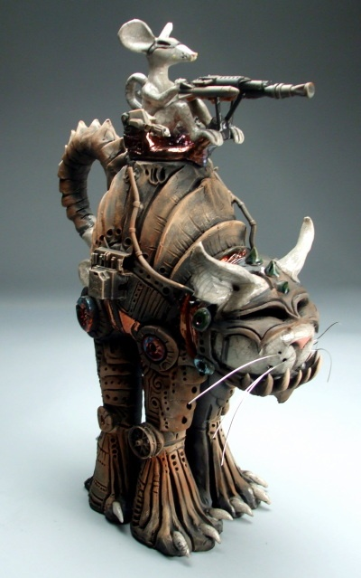 Mitchell Grafton Armored cat and mouse