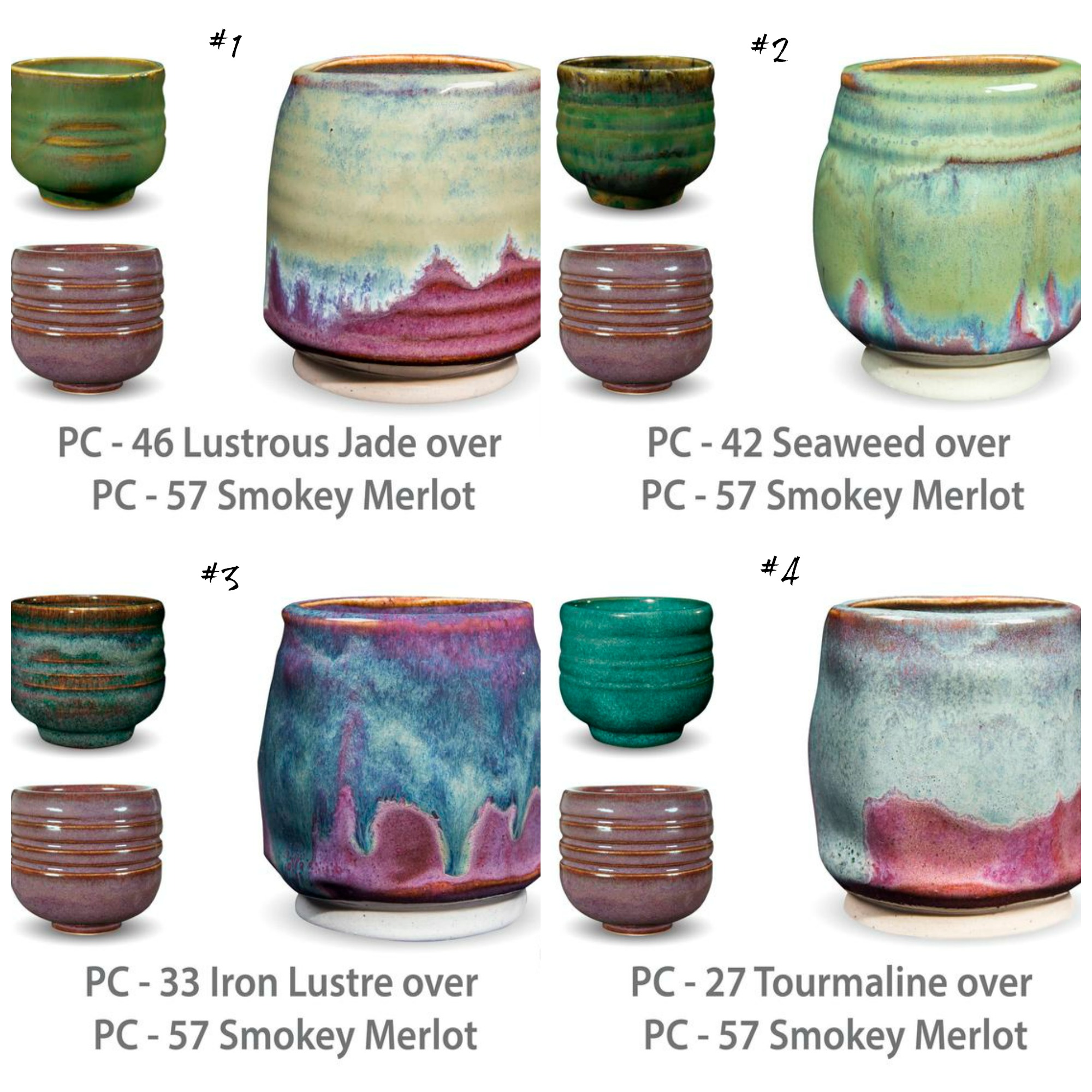 Color raven hill pottery page 3 pc glaze combinations geenschuldenfo Choice Image