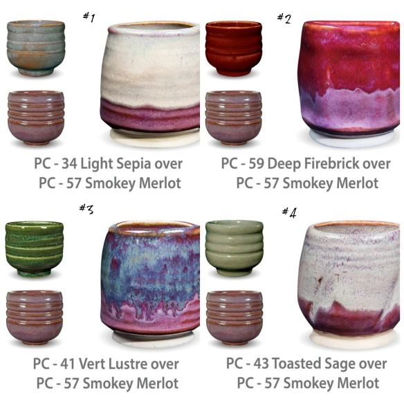 PC glaze combinations2